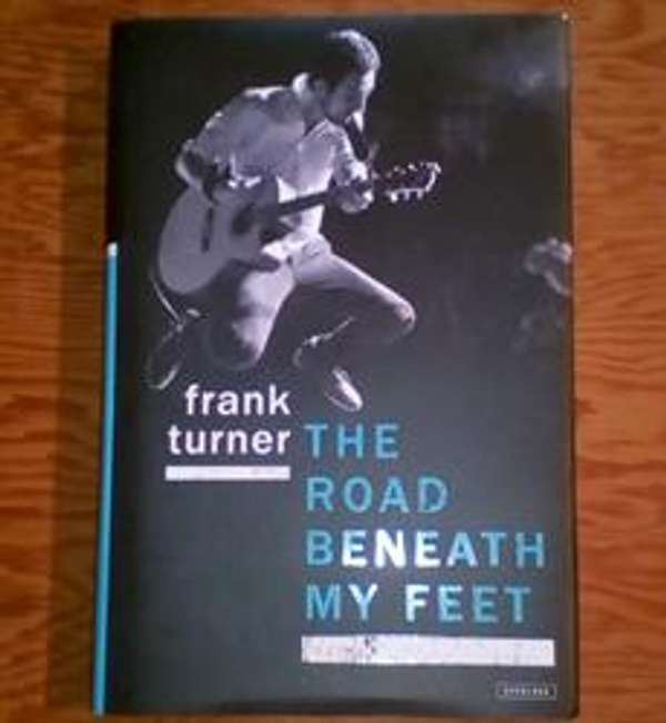 Frank Turner 'The Road Beneath My Feet' Hardback, US edition - Xtra Mile Recordings