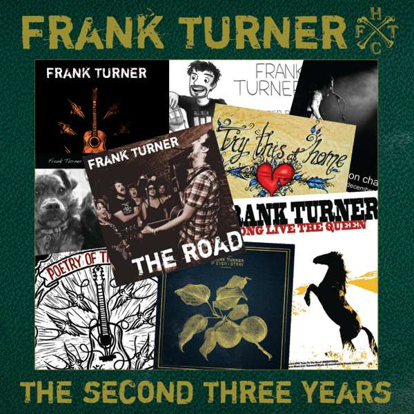 Frank Turner 'The Second Three Years' CD - Xtra Mile Recordings