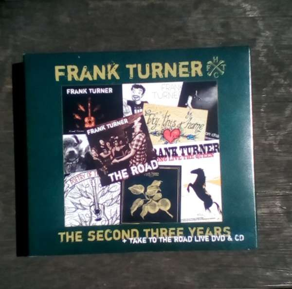 Frank Turner - The Second Three Years + Take To The Road DVD & CD - Xtra Mile Recordings