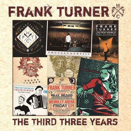 Frank Turner 'The Third Three Years' CD - Xtra Mile Recordings