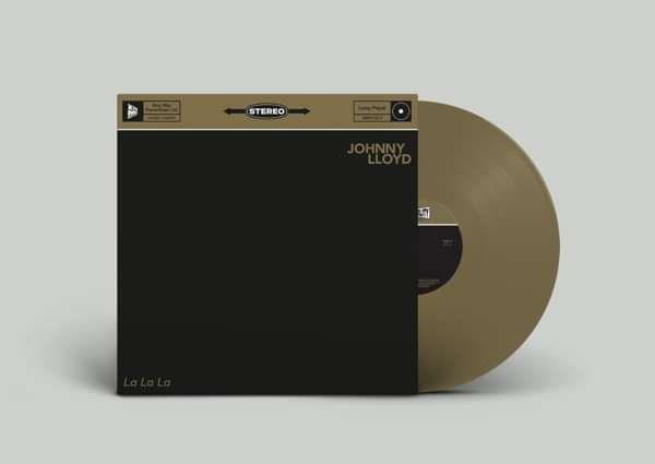 Johnny Lloyd - 'La La La' - CD & Gold LP - Xtra Mile Recordings