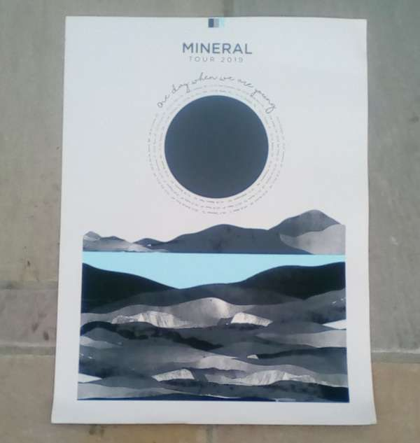 Mineral - Exclusive tour print - SIGNED - Xtra Mile Recordings