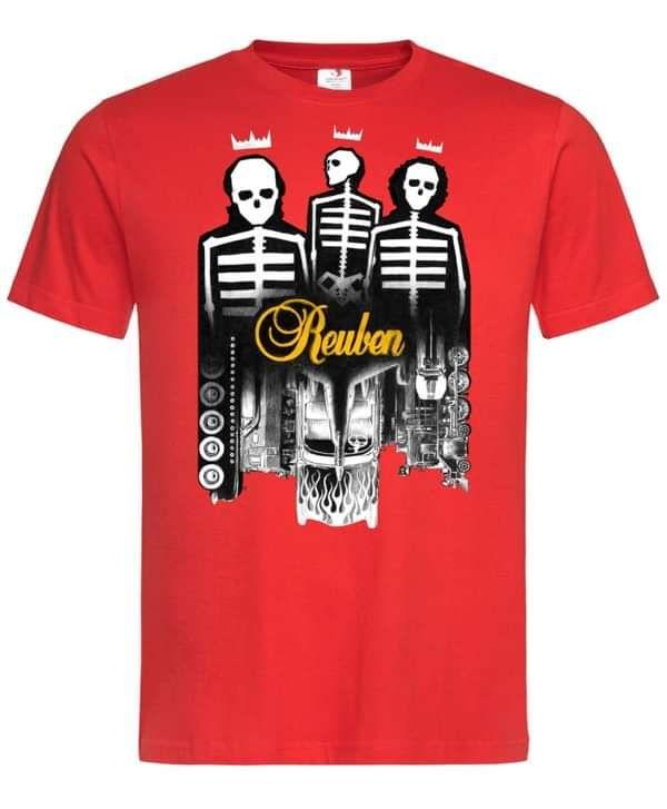 Reuben - Racecar Is Very Fast - T-shirt & Print - Xtra Mile Recordings