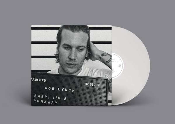 Rob Lynch 'Baby, I'm A Runaway' CD and White LP - Xtra Mile Recordings