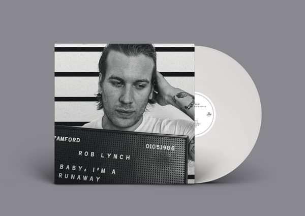 Rob Lynch 'Baby, I'm A Runaway'  White LP - Xtra Mile Recordings