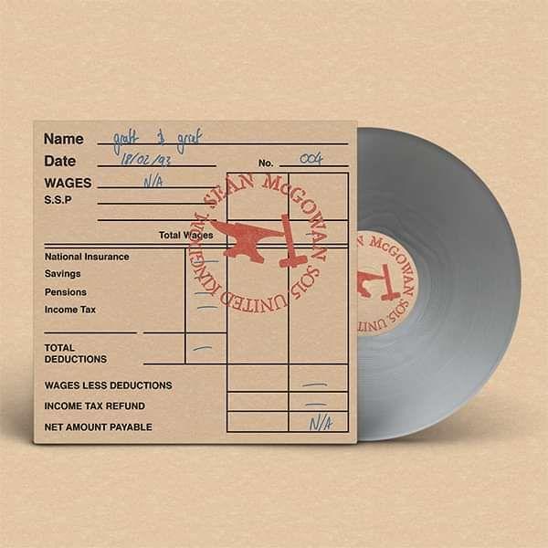 "Sean McGowan 'Graft And Grief' EP CD & colour 12"" - Xtra Mile Recordings"