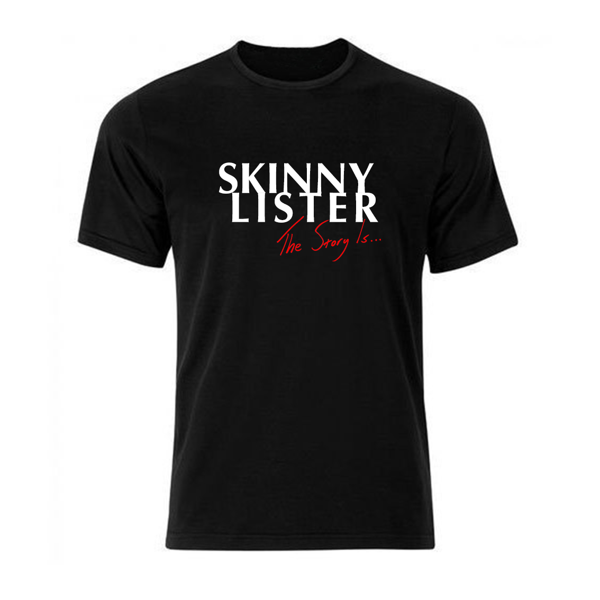 Skinny Lister - 'The Story Is...' exclusive t-shirt - Xtra Mile Recordings