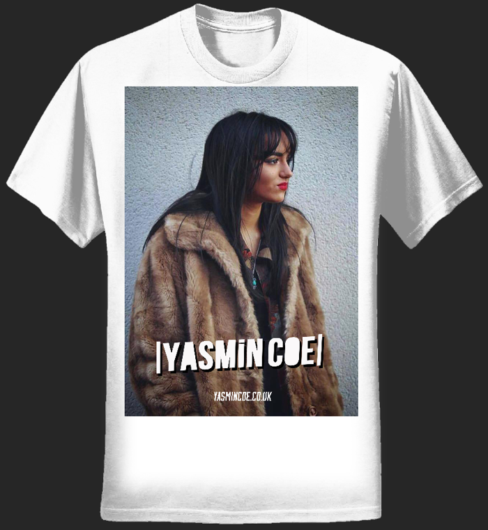 Yasmin Coe 'May 18 Live Poster' T - Shirt  (Girls) - Yasmin Coe