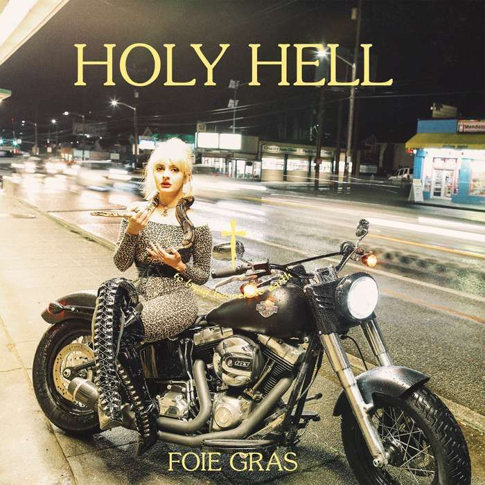 "Foie Gras ""Holy Hell"" 12 inch EP - Black - Yellow Year Records"