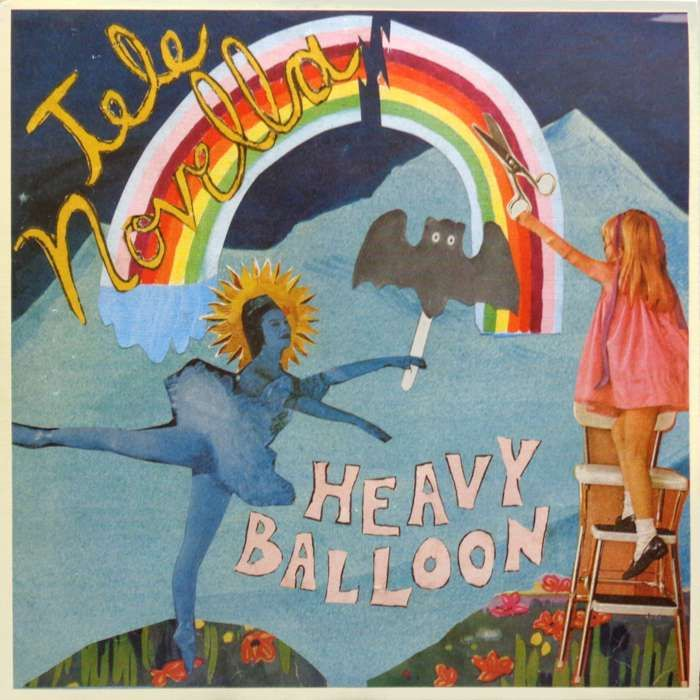 "Tele Novella - Heavy Balloon 7"" Record - Yellow Year Records"
