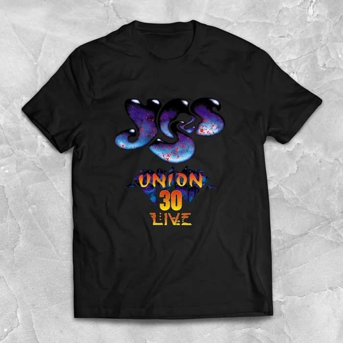 Yes - Union 30 Anniversary Black T Shirt - Yes - Union 30