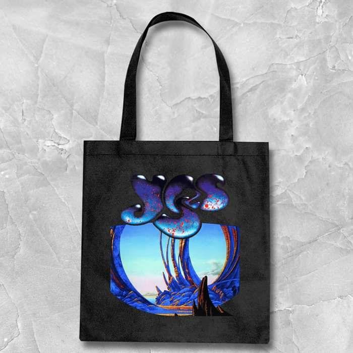 Yes - Union 30 Vintage Design Black Tote Bag 1 - Yes - Union 30