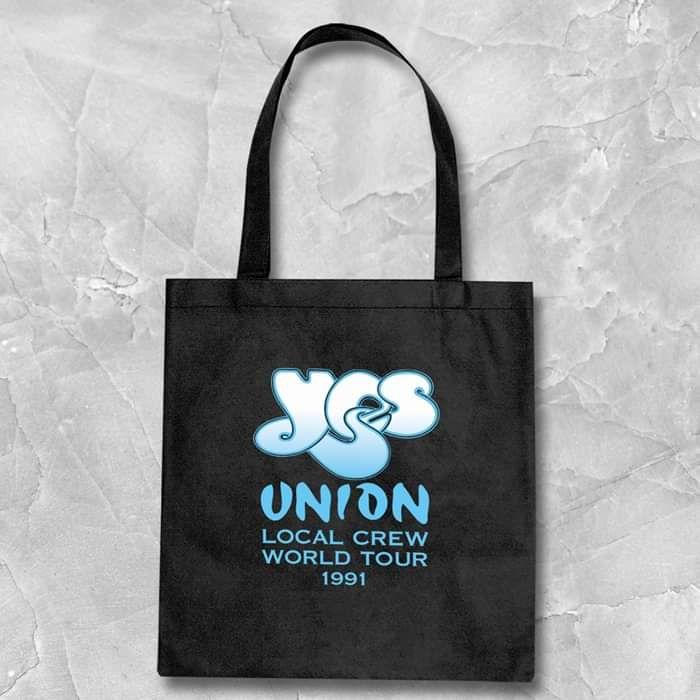 Yes - Union 30 Vintage Design Black Tote Bag 2 - Yes - Union 30
