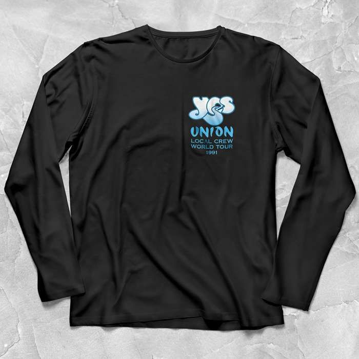 Yes - Union 30 Vintage Design Long Sleeve T Shirt 2 - Yes - Union 30