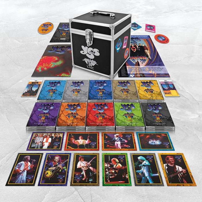 Yes – Union Live Limited Edition, Super Deluxe Flight Case - 30 Year Anniversary Edition - Yes - Union 30