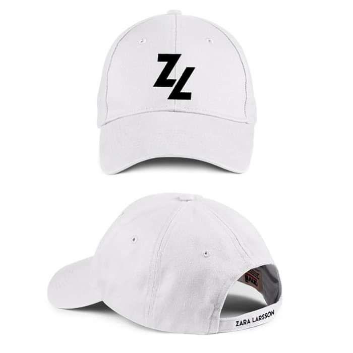 Type Logo – White Baseball Cap - Zara Larsson