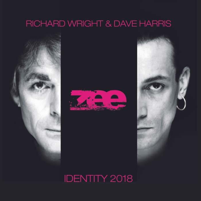 Identity Signed Remastered CD - Richard Wright & Dave Harris - Zee