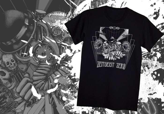 Ghosts of Victory Gas Mask T-Shirt - Zeitgeist Zero