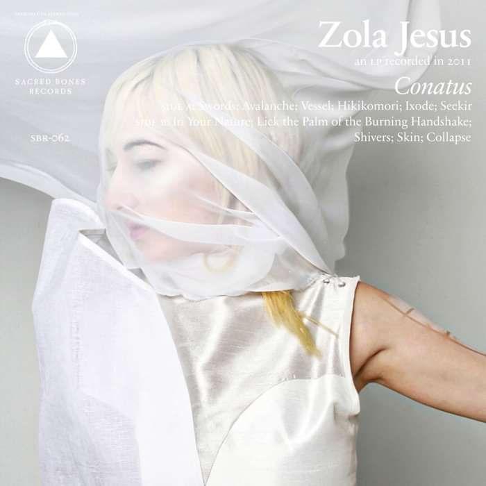 """""""Conatus"""" Grey/Clear 12"""" Vinyl - Zola Jesus"""