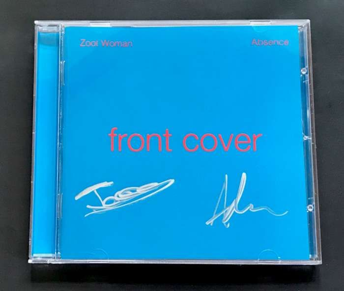 Absence - Signed CD - Zoot Woman