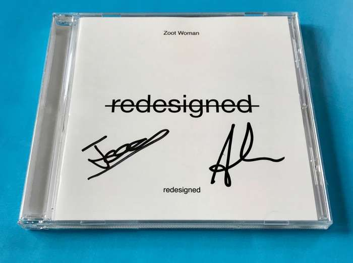 Redesigned - Signed CD - Zoot Woman