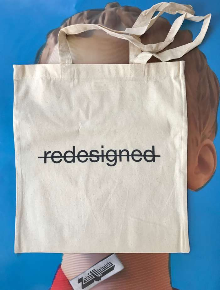 'Redesigned' Tote Bag - Zoot Woman